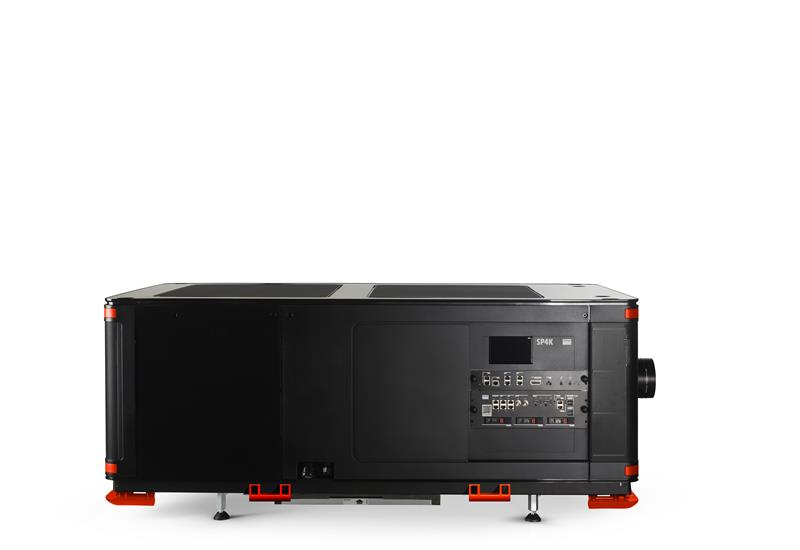 Barco SP4K-B left side